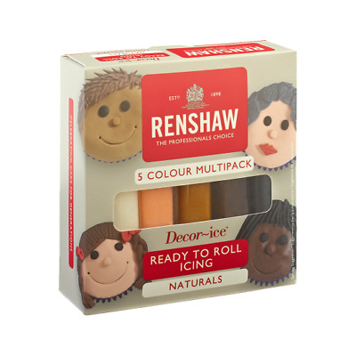 Renshaw Ready To Roll Icing Pack Naturals Free Delivery • 9.99£
