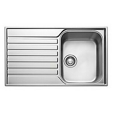 Franke Ascona ASX 611-860 860 X 510mm Stainless Steel Single Bowl Kitchen Sink • 104.99£