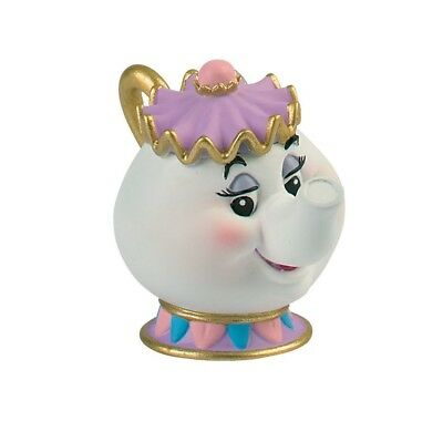 Mrs Potts Beauty And The Beast  Figure Toy Cake Topper Bullyland Free Delivery • 9.99£
