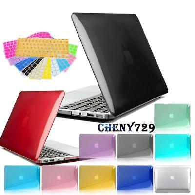 £8.99 • Buy Glossy Case Cover With UK/EU Keyboard Skin For Apple MacBook Air Pro / 2016 Pro
