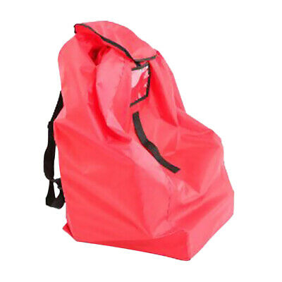 £14.31 • Buy Baby Booster Car Seat /Stroller Airplane Gate Check Travel Bag Cover Red