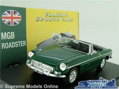 Mgb Roadster Model Car 1:43 Scale Green Convertible Atlas Norev Classic Sports K • 23.99£