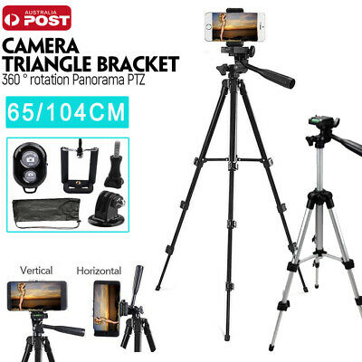 AU19.59 • Buy Adjustable Camera Tripod Mount Stand Holder For IPhone X  Xs MAX Samsung S9+ AU