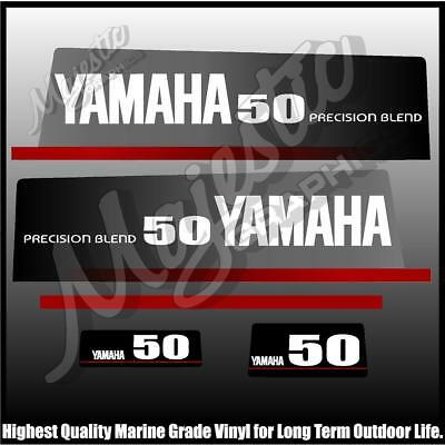 AU68 • Buy YAMAHA - 50 Hp - PRECISION BLEND - OUTBOARD DECALS