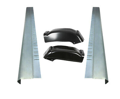 $99.90 • Buy Extended Cab Rocker Panels And Cab Corners For Chevy Silverado GMC Sierra 99-07