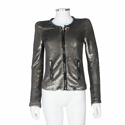 $ CDN628.54 • Buy IRO 'Bush' Sequin Jacket - Size Small