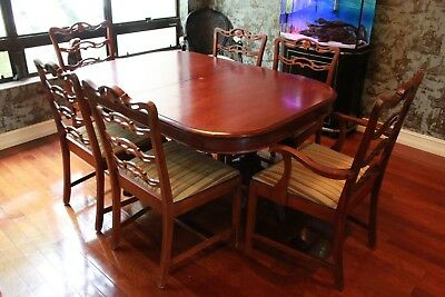 $561 • Buy Chinese Chippendale Antique Dining Room Set