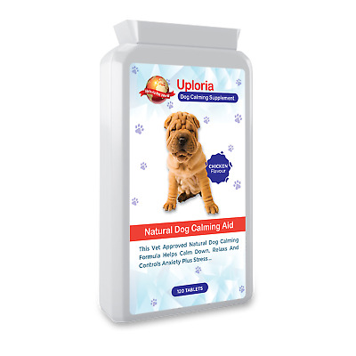 £17.97 • Buy Dog Calming Tablets For Fast Acting Relaxants & Anxiety Relief For Dogs...
