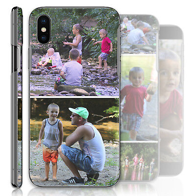 AU16.21 • Buy Personalised Phone Case Custom Photo Collage Hard Cover Personalize With Images