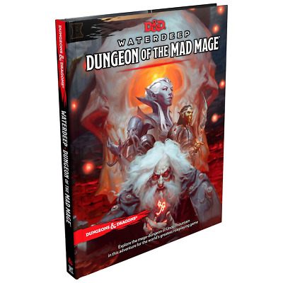 AU65.84 • Buy D&D Dungeons & Dragons Waterdeep Dungeon Of The Mad Mage RPG Game