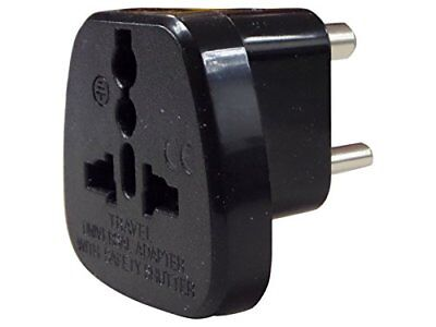 AU11.59 • Buy UK To India Pakistan Sri Lanka Nepal Travel Plug Adaptor Plug Converter  Adapter