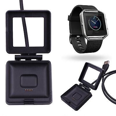 $ CDN6.80 • Buy For Fitbit Blaze USB Charging Cable Lead Power Charger Dock Cradle Wristband