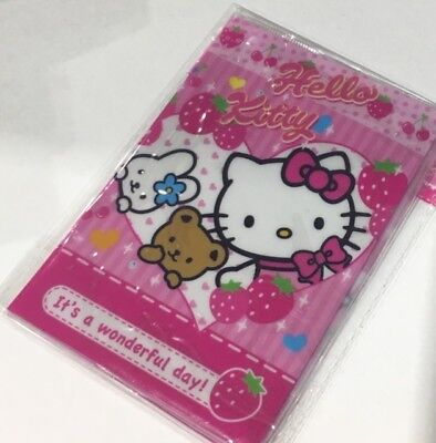 AU6.80 • Buy Kitty Passport Case Cover Protector Travel Wallet Pouch Ticket Organizer