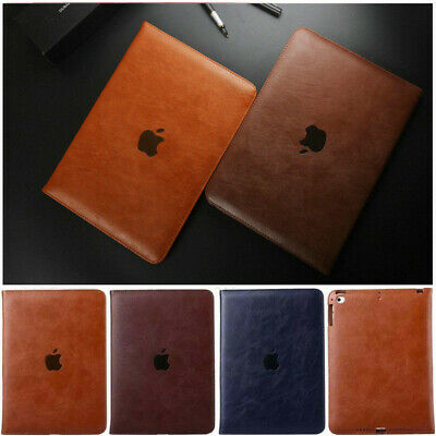 $10.52 • Buy Genuine Soft Leather Smart Flip Stand Case Cover For Apple IPad Air 9.7  2018