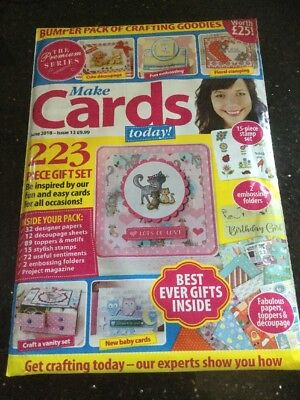 Make Cards Today Magazine - The Premium Series - June 2018 - Iss13  Bumper Pack • 8.99£