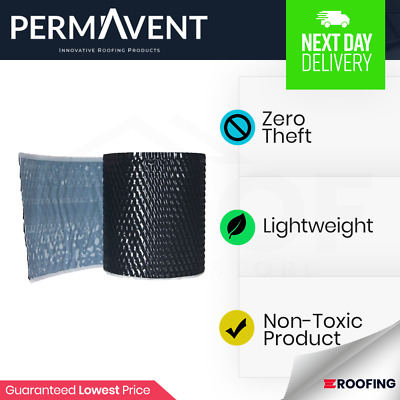 Permavent Lite Lead | Lead Flashing & Replacement | Lead Alternative | 5m Rolls • 25.25£