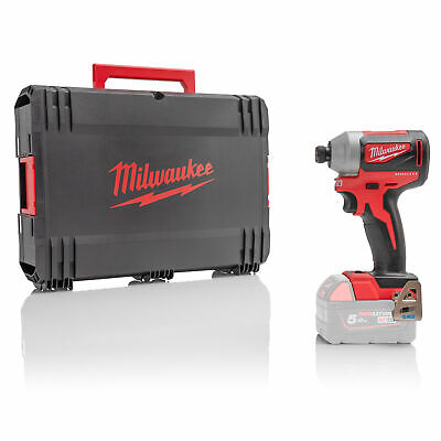 £62.39 • Buy Milwaukee M18BLID2-0 M18 18V Cordless Impact Driver - 1/4 Inch Hex Drive Recepti