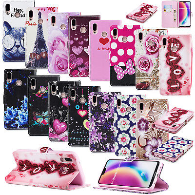 AU3.99 • Buy Wallet Flip PU Leather Phone Case Cover For IPhone Samsung Galaxy Note 9 A6 J8