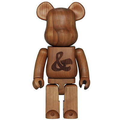 $3450 • Buy NEW Medicom Toys House Industries Karimoku 400% Wood Bearbrick Wooden Bear Brick