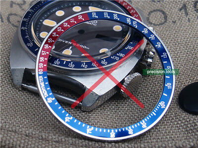 $ CDN20.57 • Buy Replacement Steel Bezel Without Insert For Pogue 6139 6000 6002 6005 Spare Parts