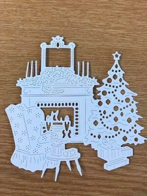 £2.20 • Buy Tattered Lace - Art Deco Home For Christmas Die Cuts X 2