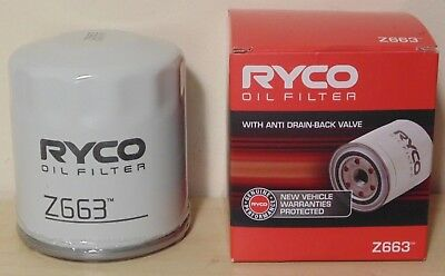 AU22.70 • Buy RYCO Z663 Oil Filter For Holden Commodore V8 6.0 6.2 HSV Gen IV LS2 LS3 L76 L98