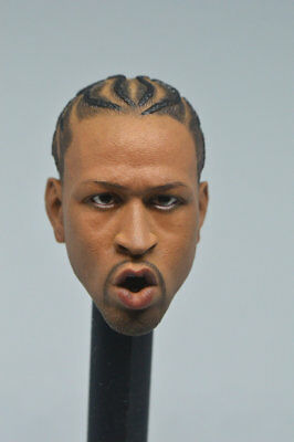 $19.99 • Buy HOT FIGURE TOYS 1/6 Scale  Allen Iverson Enterbay  Head  Headplay Custom