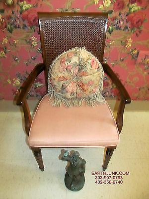 Ethan Allen Classic Manor Caned Back Maple Dining Room Arm Chair 15 6010A O 35999