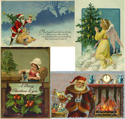 £1.49 • Buy Christmas Noel Xmas Card Making Collection 5500+ Pictures Images On Dvd Vintage