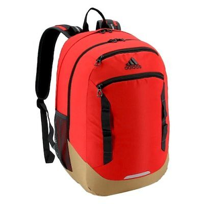 $39.95 • Buy Adidas Excel IV Unisex Backpack 5145451 [laptop Bag Case Red] LIFETIME WARRANTY