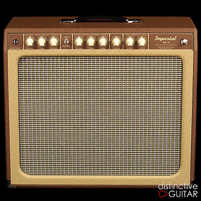 $ CDN3479.25 • Buy New Tone King Imperial Mkii W/ Built In Attenuator Tube Reverb & Tremolo Brown
