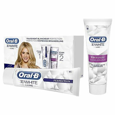 View Details Oral-B 3D White Luxe Whitening Accelerator Treatment + Toothpaste, 75 Ml - NEW  • 5.95£