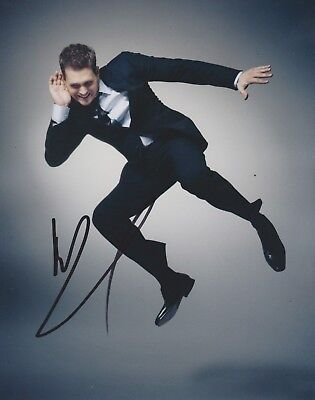 £84.99 • Buy Michael Buble Signed 10x8 Photo AFTAL