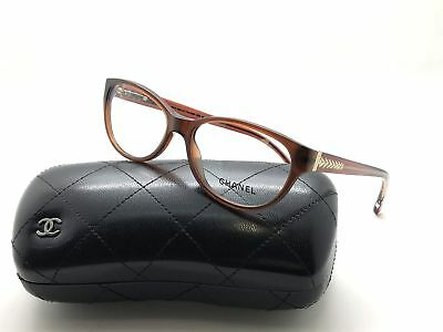 9fb2497c8d Chanel 3206 C.538 Crystal Brown 52mm Frames Eyeglasses RX Italy • 209.97