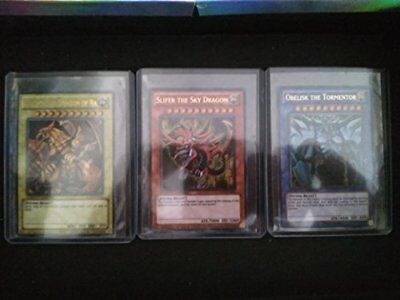 AU70.03 • Buy YuGiOh Legendary Collection Ultra Rare God Card Set Of 3 Egyptian God Cards S...