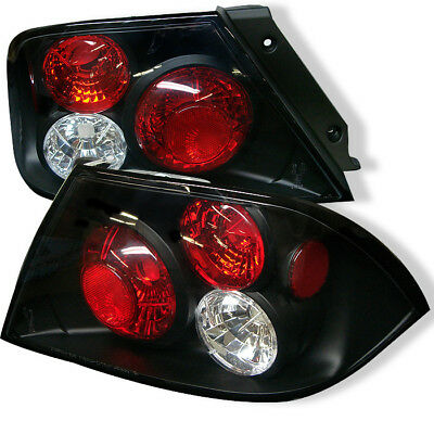 $140 • Buy 2002-2003 Mitsubishi Lancer Euro Style Black Tail Lights Spyder 5006417