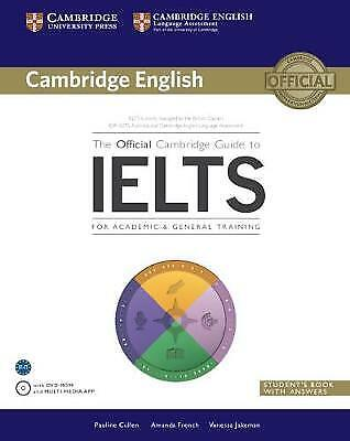 £21.99 • Buy The Official Cambridge Guide To IELTS Student's Book With Answers And DVD-Rom