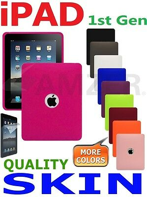 AMZER Silicone Jelly Skin TPU Case Cover For Apple IPad 1st Gen 2010 1G Screen • 10.99£