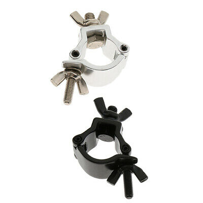 Small Aluminum Stage Lighting Hook Clamp Fit 18mm-21mm OD Tubing Pipe • 4.03£
