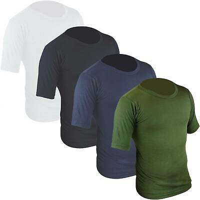Highlander Mens Thermal Short Sleeve Vest Lightweight Breathable Base Layer • 8.95£