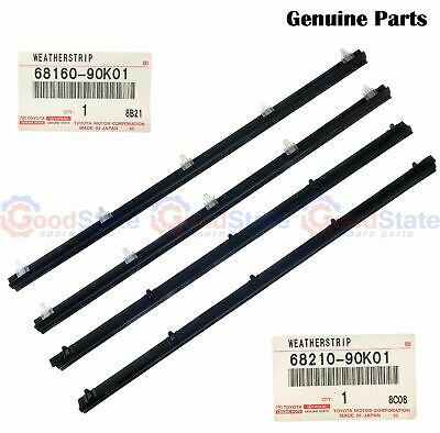 AU192.31 • Buy GENUINE Toyota LandCruiser VDJ78 VDJ79 Front Inner Outer Weatherstrip Set