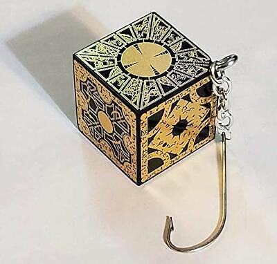 Hellraiser Puzzle Box Christmas Ornament Xmas Tree Decoration Cube Foil Face NEW • 14.61£