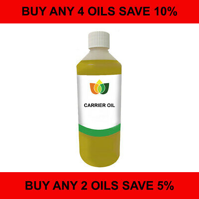 £14.49 • Buy 1L Carrier/Base Oil. Pure Vegan Natural Choose From 60 Cold Pressed Oils.
