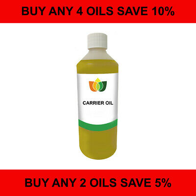£8.99 • Buy 500ml Carrier/Base Oil. Pure Vegan Natural Choose From 60 Cold Pressed Oils
