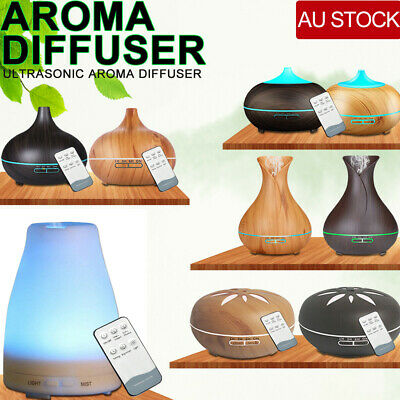 AU28.59 • Buy LED Essential Oil Humidifier Ultrasonic Diffuser Aroma Aromatherapy Air Purifier
