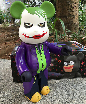 $45.88 • Buy Bearbrick 400% The Joker Be@rbrick Batman The Dark Knight DC Comic Action Figure
