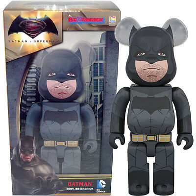 $49.99 • Buy Medicom Be@rbrick Bearbrick Batman V Superman Dawn Of Justice Batman 400% Figure