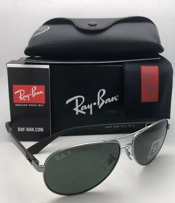 7af70fcb52bde Polarized RAY-BAN Sunglasses TECH SERIES RB 8313 004 N5 58-13 Gunmetal