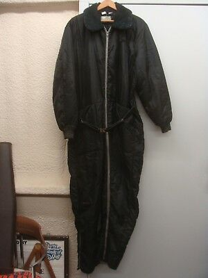 5af3fa90962 Sears Vintage Work Coveralls Mens Snowmobile Suit Insulated Size LARGE TALL  • 24.99