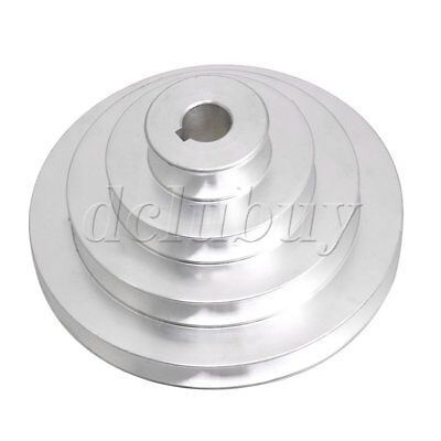 AU18.01 • Buy 16 Mm Bore Outer Dia 41-130mm 4 Step A-Type V Belt Pagoda Pulley Belt